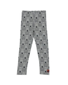 Kenzo Kids Girls White Eye Print Leggings