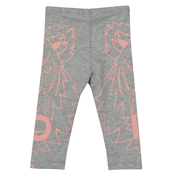 Kenzo Baby Girls Grey Tiger Print Leggings main image