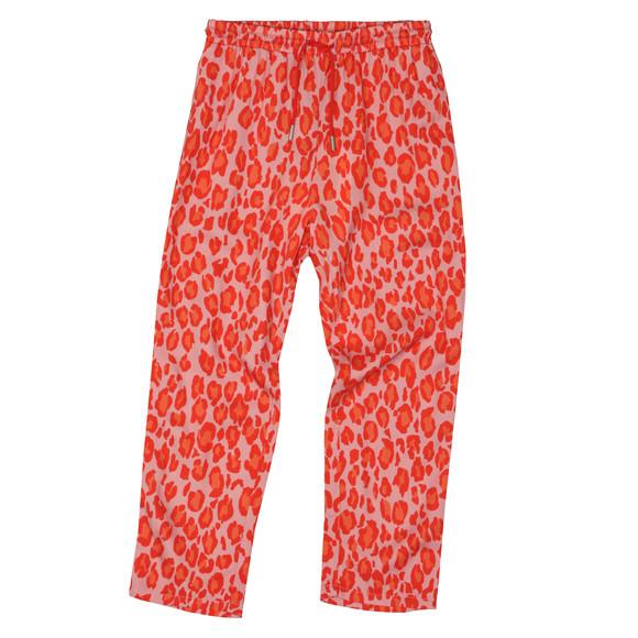 Kenzo Kids Girls Pink Leopard Print Jogger