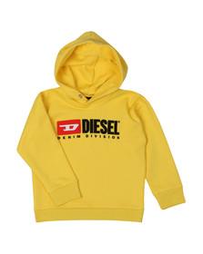 Diesel Boys Yellow Diesel Denim Hoody