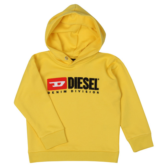 Diesel Boys Yellow Diesel Denim Hoody main image