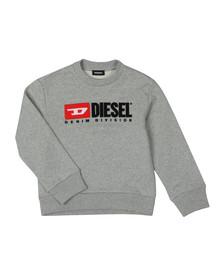 Diesel Boys Grey Diesel Denim Sweatshirt