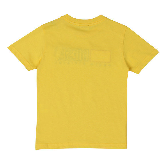 Diesel Boys Yellow Diesel Just Division Mag T-Shirt main image