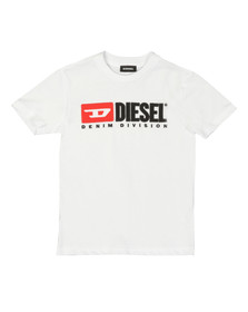 Diesel Boys White Just Division Mag T-Shirt