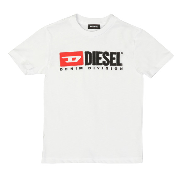 Diesel Boys White Diesel Just Division Mag T-Shirt main image