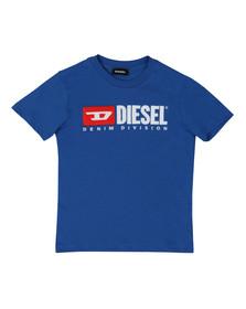 Diesel Boys Blue Diesel Just Division Mag T-Shirt