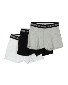 BOSS Boys Black 3 Pack Boxers
