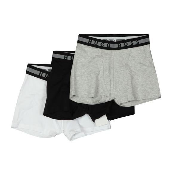 BOSS Boys Black 3 Pack Boxers main image