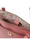 Michael Kors Womens Pink Maddie Mid East West Tote Bag
