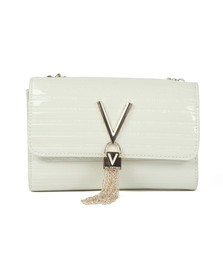 Valentino by Mario Womens Off-White Mowgli Small  Satchel