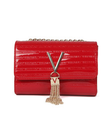 Valentino by Mario Womens Red Mowgli Small  Satchel