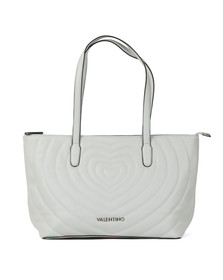 Valentino by Mario Womens White Fiona Tote Bag