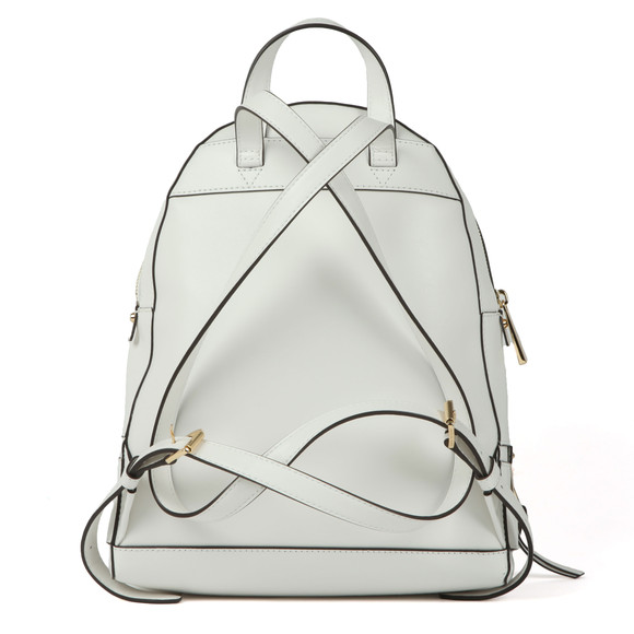 Michael Kors Womens White Rhea Zip Backpack main image