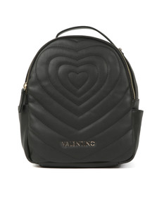 Valentino by Mario Womens Black Fiona Backpack