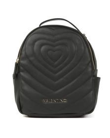 Valentino by Mario Womens Black Fiona Backpack