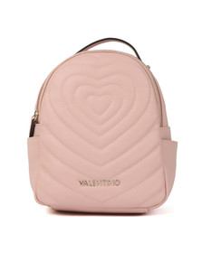 Valentino by Mario Womens Pink Fiona Backpack