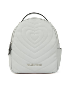 Valentino by Mario Womens White Fiona Backpack