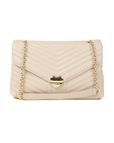 Valentino by Mario Womens Beige Rapunzel Special Large Crossbody Bag