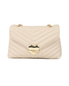 Valentino by Mario Womens Beige Rapunzel Special Crossbody Bag