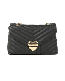 Valentino by Mario Womens Black Rapunzel Special Crossbody Bag