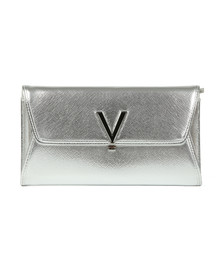 Valentino by Mario Womens Silver Argento Clutch