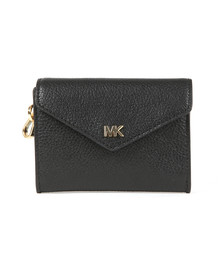 Michael Kors Womens Black Small Chain Envelope Carryall