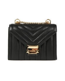 Michael Kors Womens Black Whitney Small Shoulder Bag