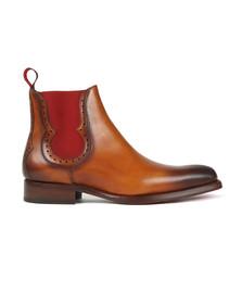 Jeffery West Mens Brown Fear Dexter Boot