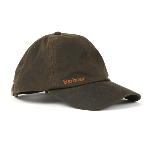 Barbour Lifestyle Mens Green Prestbury Sports Cap main image