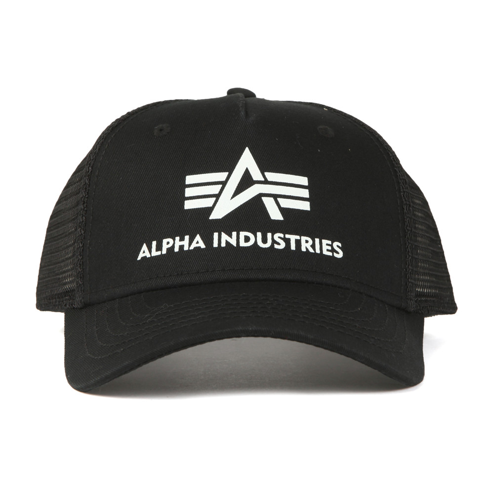 save off b6940 f14dd Alpha Industries Basic Trucker Cap