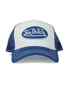 Von Dutch Mens White U.S.A Trucker Cap