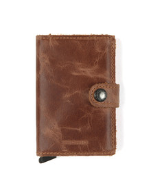 Secrid Mens Brown Mini Wallet