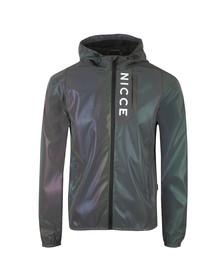 Nicce Mens Purple Vind Jacket