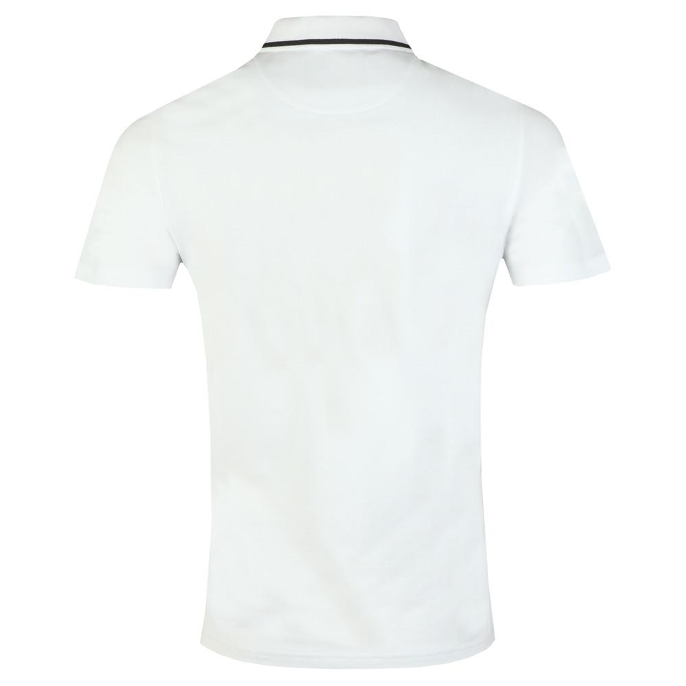 Fabric Mix Football Polo Shirt main image