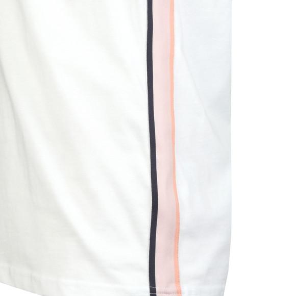 Lyle and Scott Mens White Side Stripe T-Shirt main image