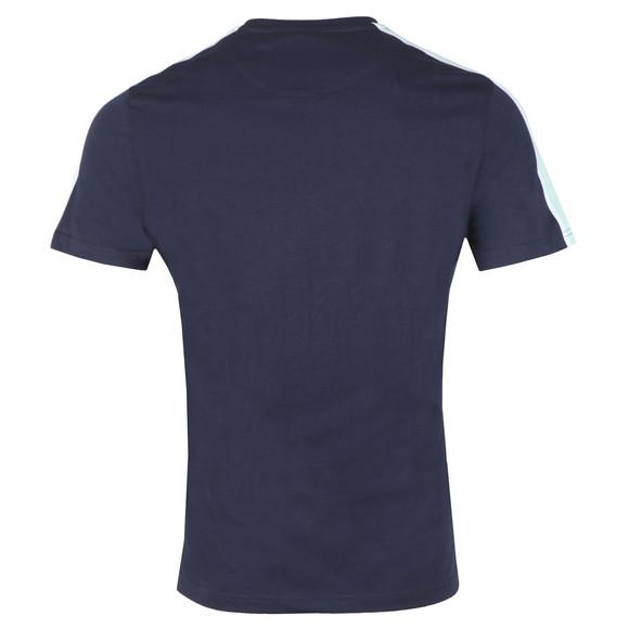 Lyle and Scott Mens Blue Side Stripe T-Shirt main image