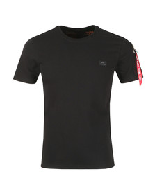 Alpha Industries Mens Black X Fit Heavy T Shirt
