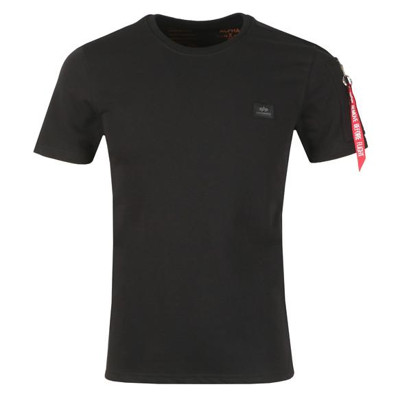 Alpha Industries Mens Black X Fit Heavy T Shirt