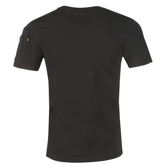 Alpha Industries Mens Black X Fit Heavy T Shirt main image