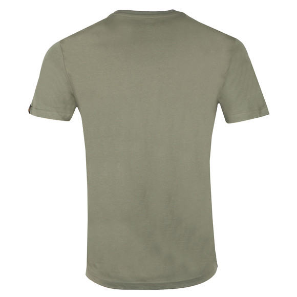 Alpha Industries Mens Green Basic Small Logo T Shirt main image