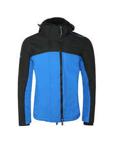 Superdry Mens Blue Arctic Exon Hooded Jacket