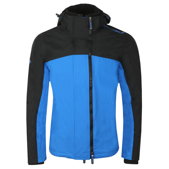 Superdry Mens Blue Arctic Exon Hooded Jacket main image