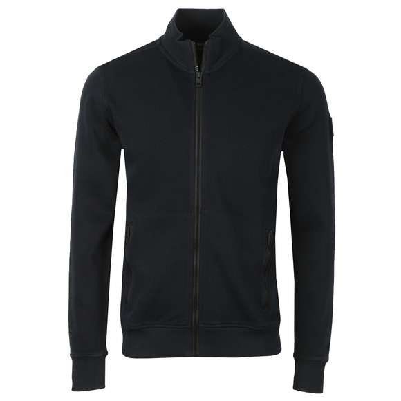 BOSS Mens Blue Casual Zildman Full Zip Sweat main image