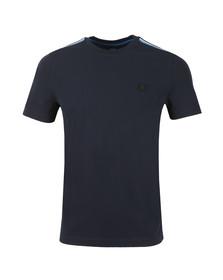 BOSS Mens Blue Casual Tomcat T Shirt