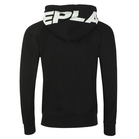 Replay Mens Black Full Zip Hooded Sweat main image