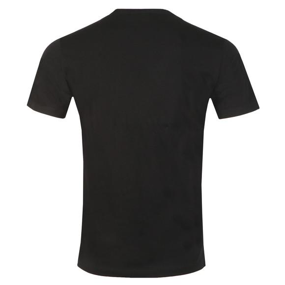 Replay Mens Black Logo Print Tee main image