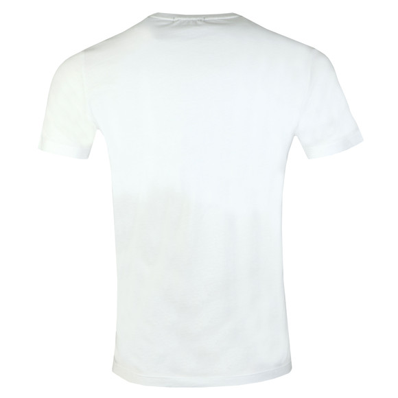 Replay Mens White Logo Print Tee main image