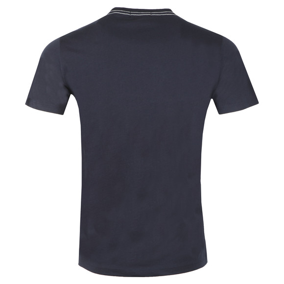 Replay Mens Blue Logo Print Tee main image