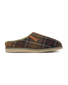 Barbour Lifestyle Mens Green Hughes Slipper