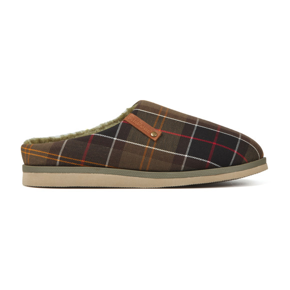 Barbour Lifestyle Mens Green Hughes Slipper main image